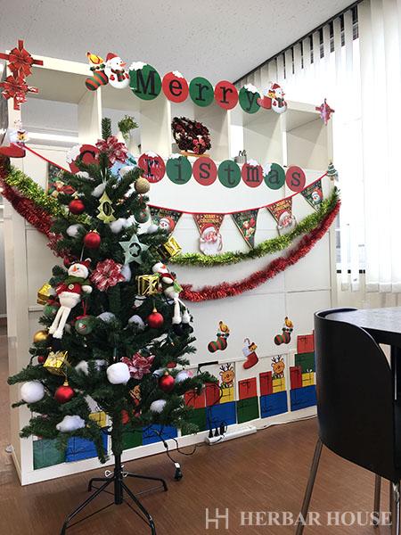 ハーバーハウス不動産部 事務所がクリスマス仕様になりました!