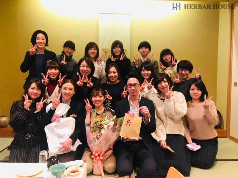 ハーバーハウス コーディネート課 上長へのサプライズ☆